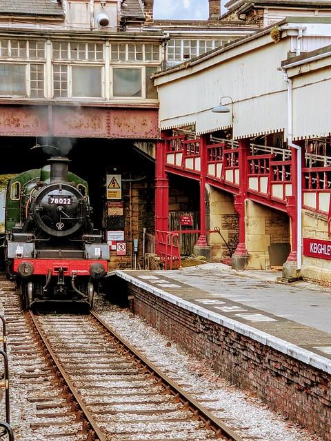 British Railways Standard Class 2MT 2-6-0 No. 78022
