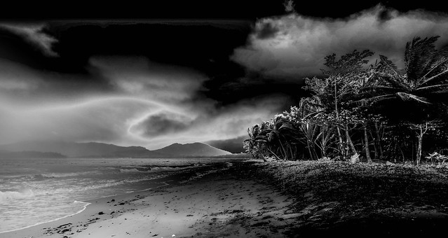 A storm in paradise