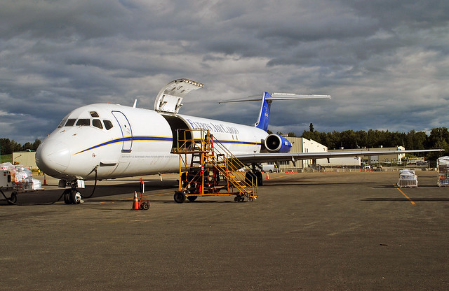 Everts Air Cargo MD-83 Freighter