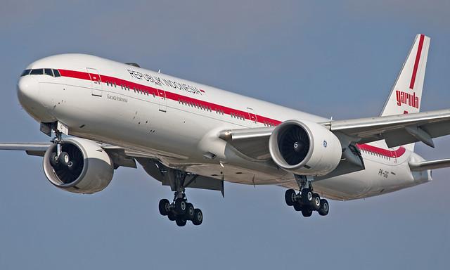PK-GIG - Boeing 777-3U3ER - LHR