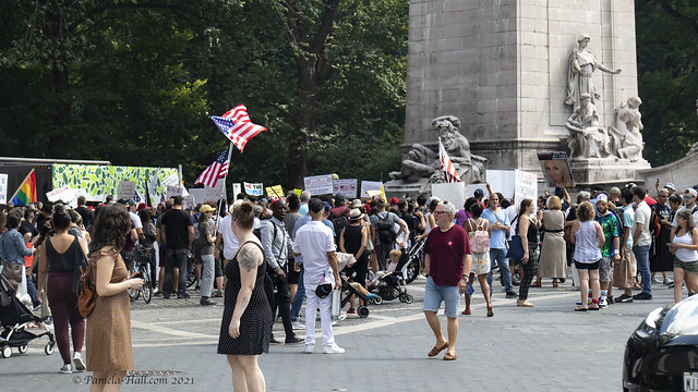 Worldwide Rally for Freedom NYC Part 1