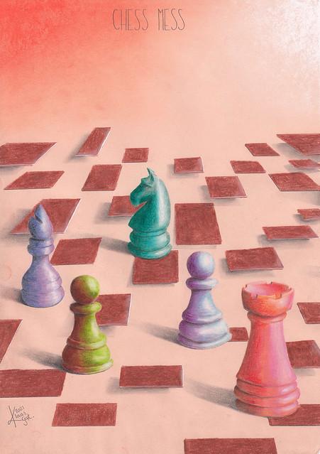 Chess mess