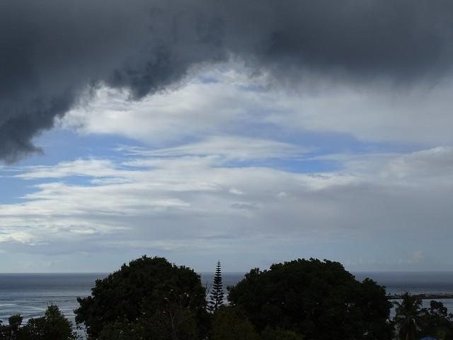Les beaux ciels de Tahiti