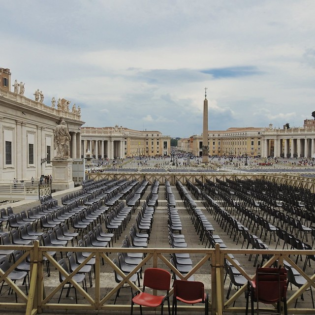 Empty Chairs at the Vatican