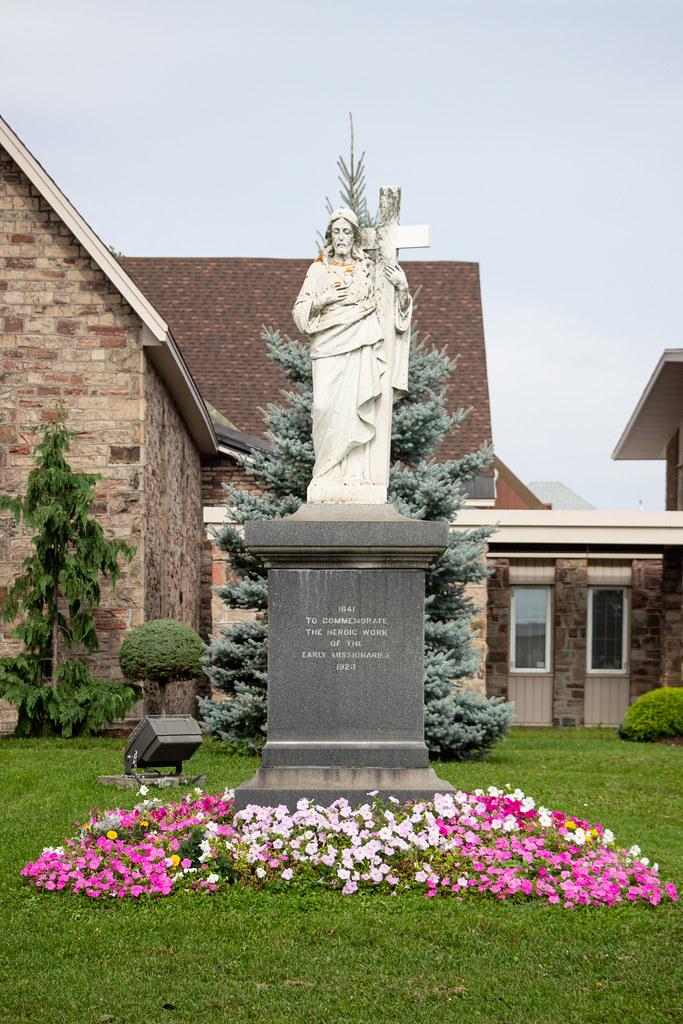 Catholic Missionary Monument, Sault Ste. Marie, Ontario, Canada