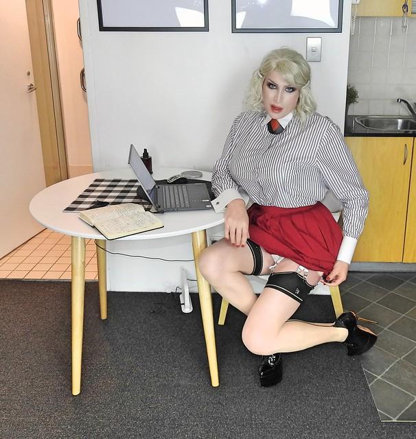Buxom Secretary Part 1