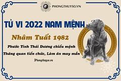 Tử vi tuổi nhâm tuất năm 2022 nam mạng