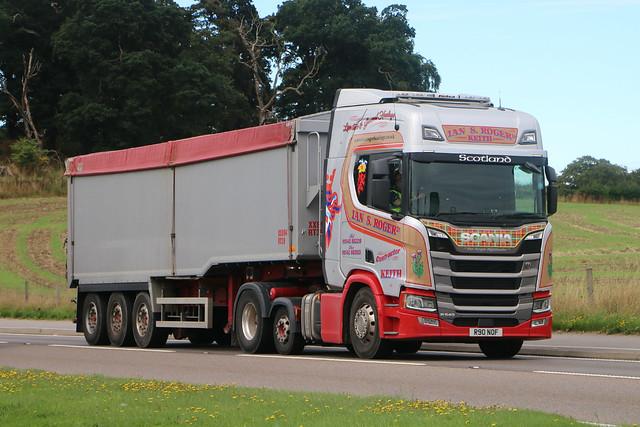 Ian S.Roger Ltd Scania R540 R 90 NOF.