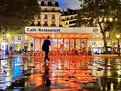 After the rain Place de la République