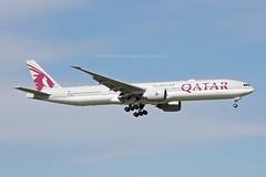 """As Suwayhiliyah / السويحلية"" Qatar Airways A7-BAZ Boeing 777-3DZER cn/41781-1093 @ LFPG / CDG 18-09-2021"