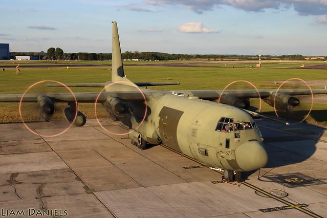 Lockheed C-130J Hercules C4 - ZH877