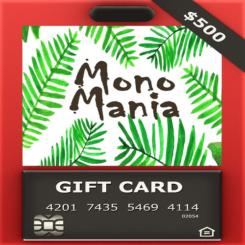 MONOMANIA L$500 GiftCard