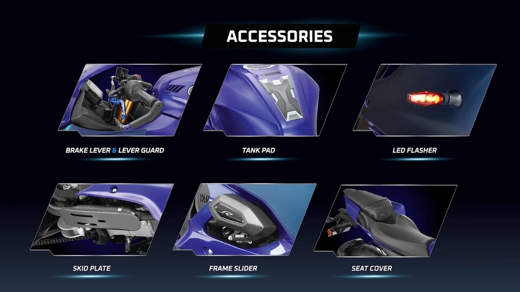 Yamaha R15 V4.0 Accessories