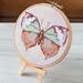 Cross Stitch Finish: Vintage Butterfly