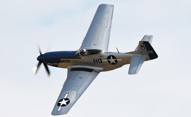 North American P-51D Mustang 472216 G-BIXL Miss Helen USAAF 44-722164