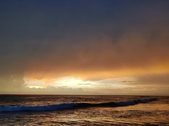 Sunset on the Pacific in Nicaragua