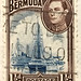 Bermuda Sailboat Stamp