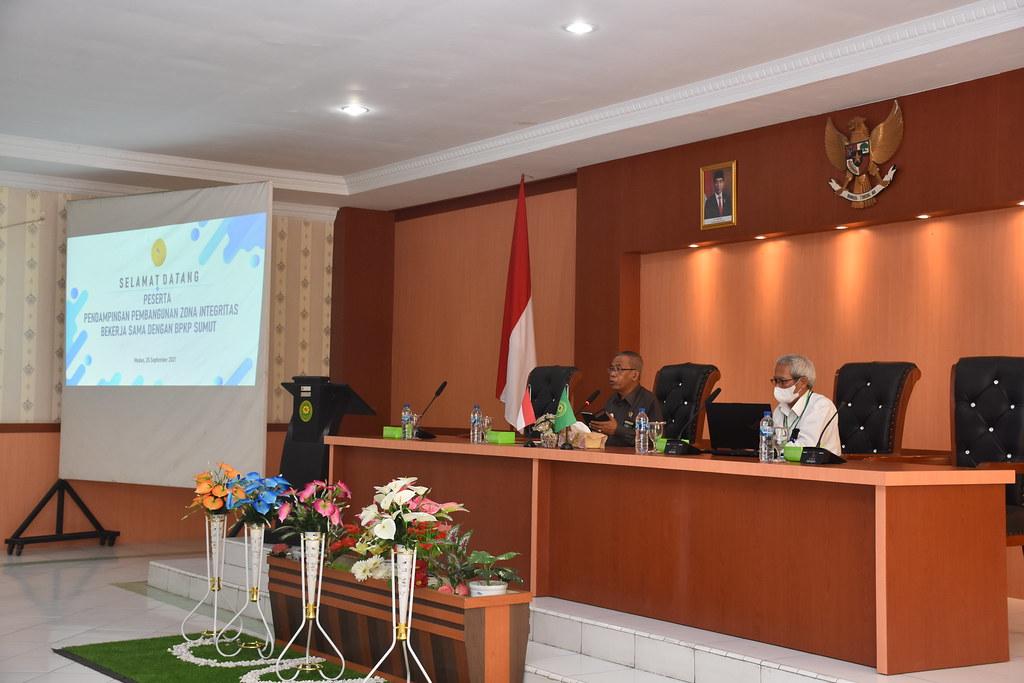 BPKP Lakukan Pendampingan Pembangunan Zona Integritas Terhadap Delapan Satker Di PTA Medan   (24/)