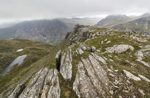 Castell y Geifr, Y Garn, Snowdonia National Park, Gwynedd, UK