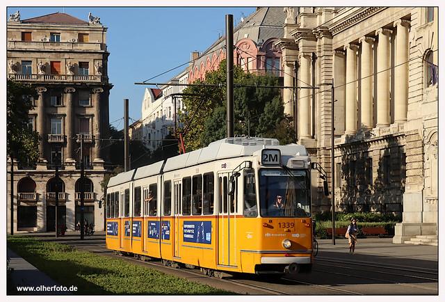Tram Budapest - 2021-02