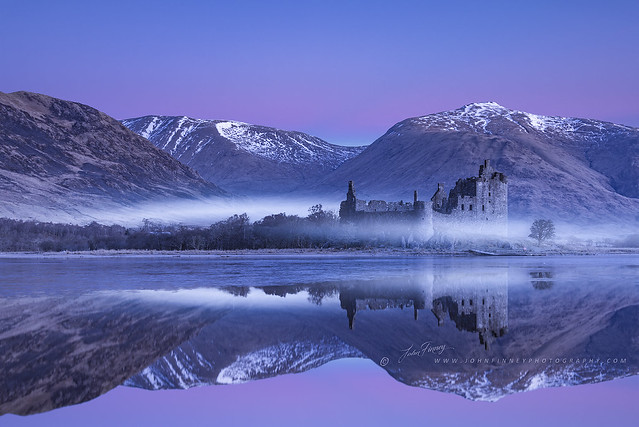 Kilchurn Castle Winter Dawn