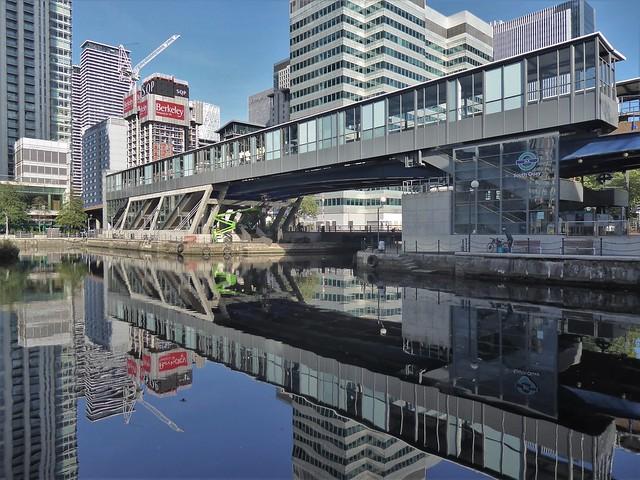 South Quay DLR Station, Canary Wharf, London