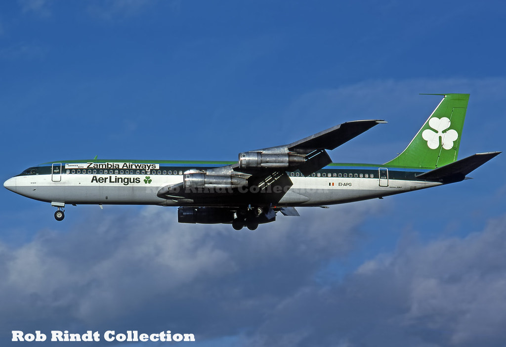 Zambia Airways B707-348C EI-APG