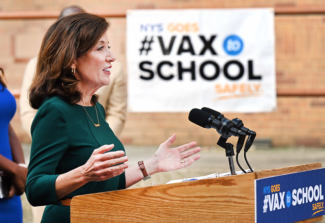 Governor Hochul Announces 120 Pop-Up Vaccination Sites Over 12 Weeks as Part of State's #VaxtoSchool Campaign to Increase Vaccination Rates Among Younger New Yorkers