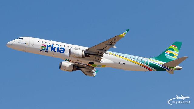 TLV - Arkia Embraer 195 4X-EMA