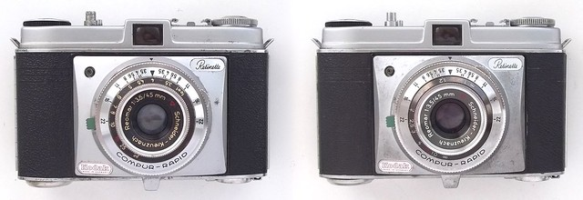 Kodak Retinette cameras (Type 022) - late models