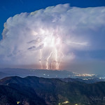 21. September 2021 - 1:53 - beautiful storm off the coast of Cyprus
