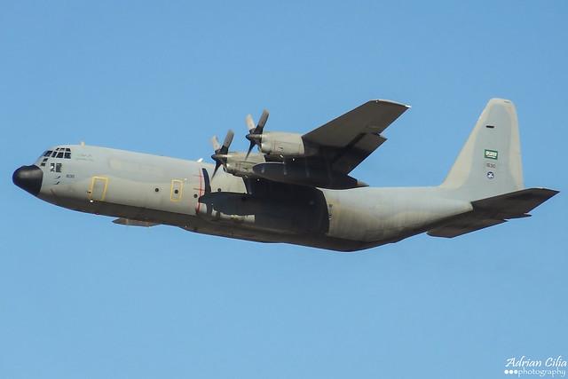 Saudi Arabia Air Force --- Lockheed C-130H-30 Hercules --- 1630