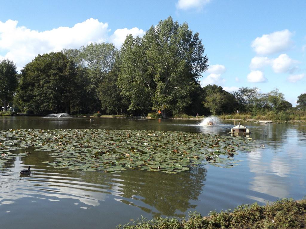 Horsley Lake, Camping & Caravanning Club Site, East Horsley, Surrey, 16 September 2021
