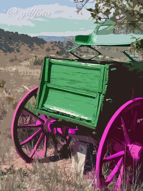 Purple Wheels 884