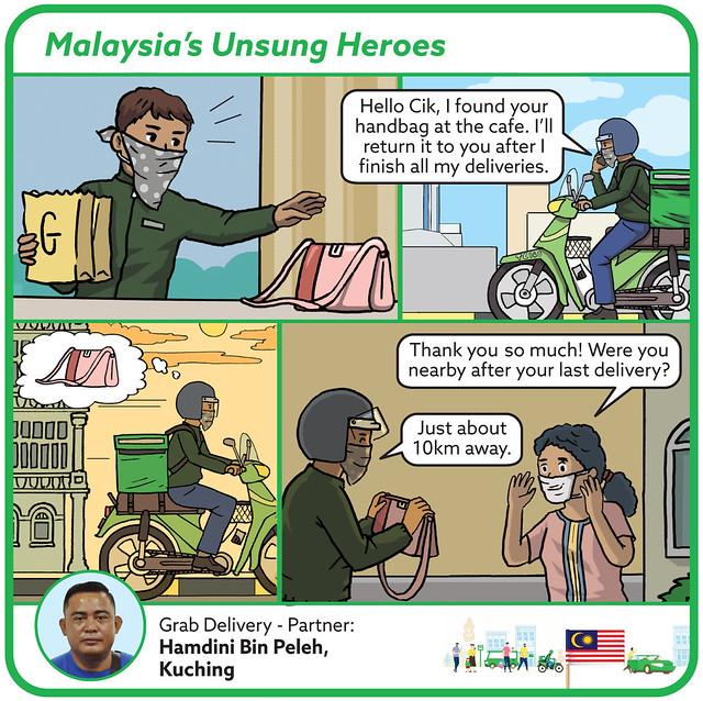 Hamdini, Grab Delivery-Partner