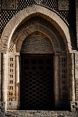 Entrance to the Mausoleum of Samanids