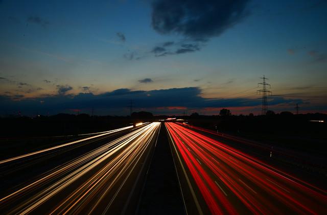 Aschheim - Dusk Traffic
