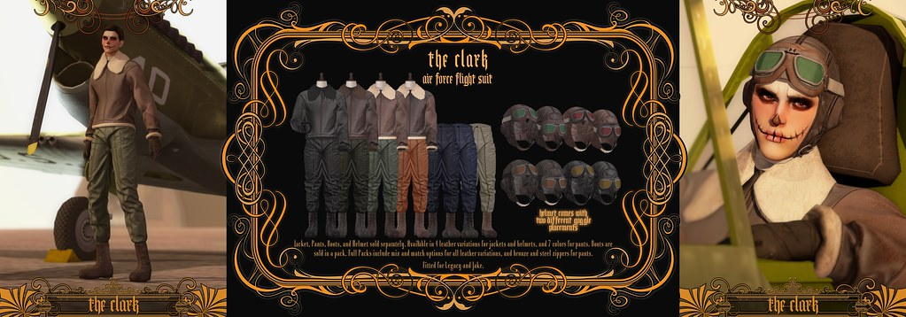 """""""The Clark"""" Air Force Flight Suit @ Engine Room September 2021"""