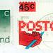 Nederland Postcode stamp
