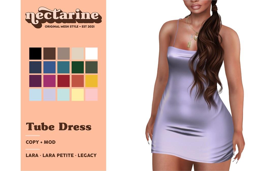 Nectarine – Tube Dress