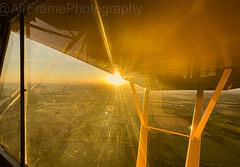 Lovely evening for flying...