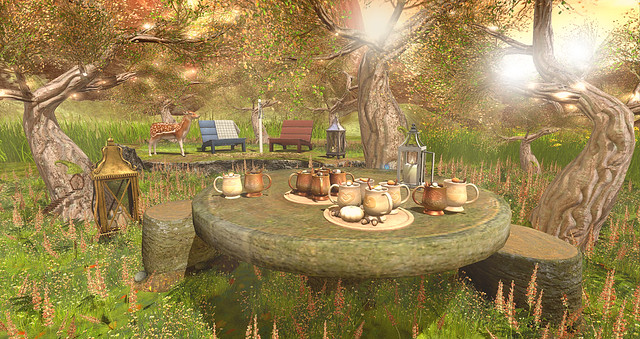 Peaceful autumn
