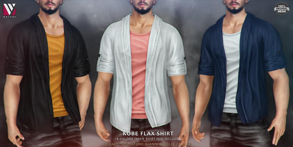 Volvér – Kobe Flax Shirt