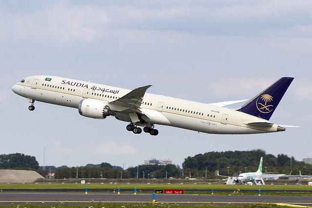 HZ-ARG, Boeing 787-9 Dreamliner, Saudia