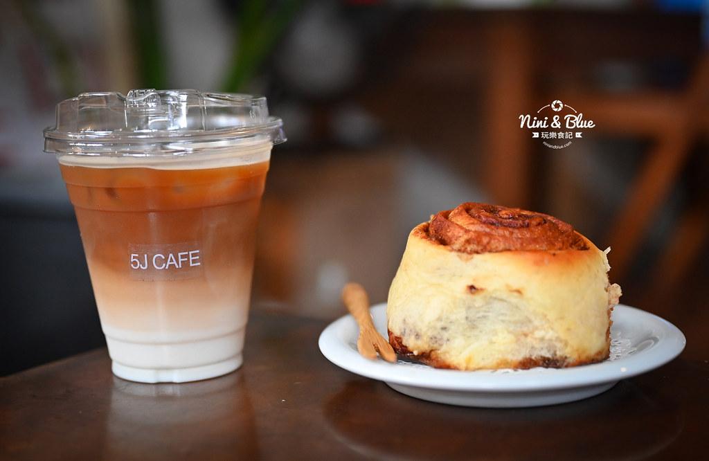 5J cafe BOB大里花市咖啡肉桂捲08