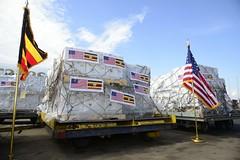 The United States Delivers COVID-19 Vaccine Doses to Uganda