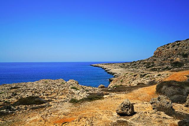 Fabulous seascape at Cape Greco, Cyprus