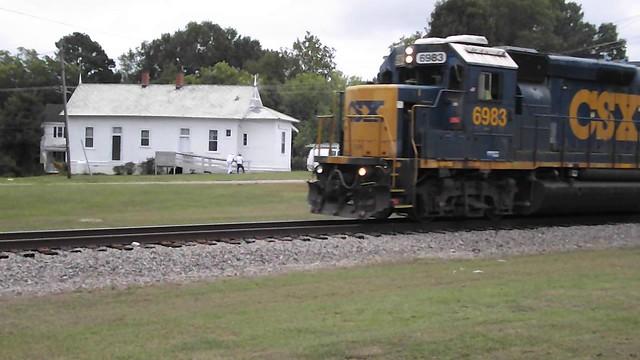 Raleigh and Gaston Station, Franklinton, NC.