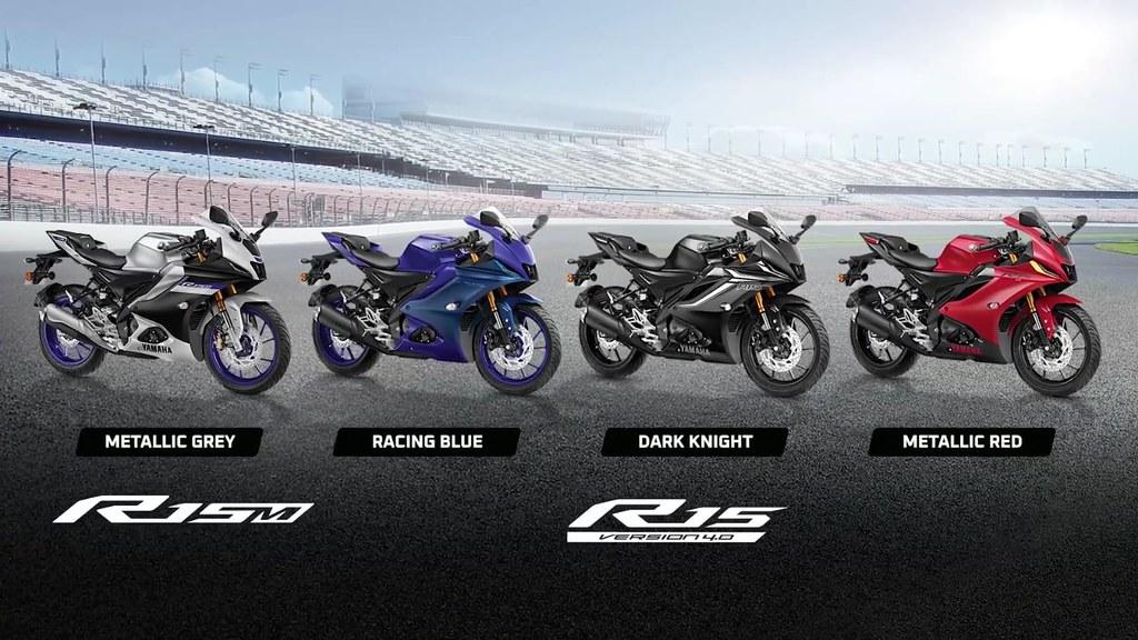 Yamaha R15 V4.0 Colour