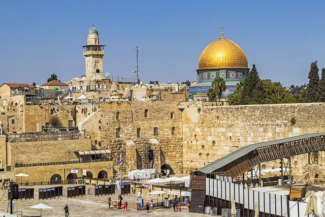 Jerusalem. The Western Wall